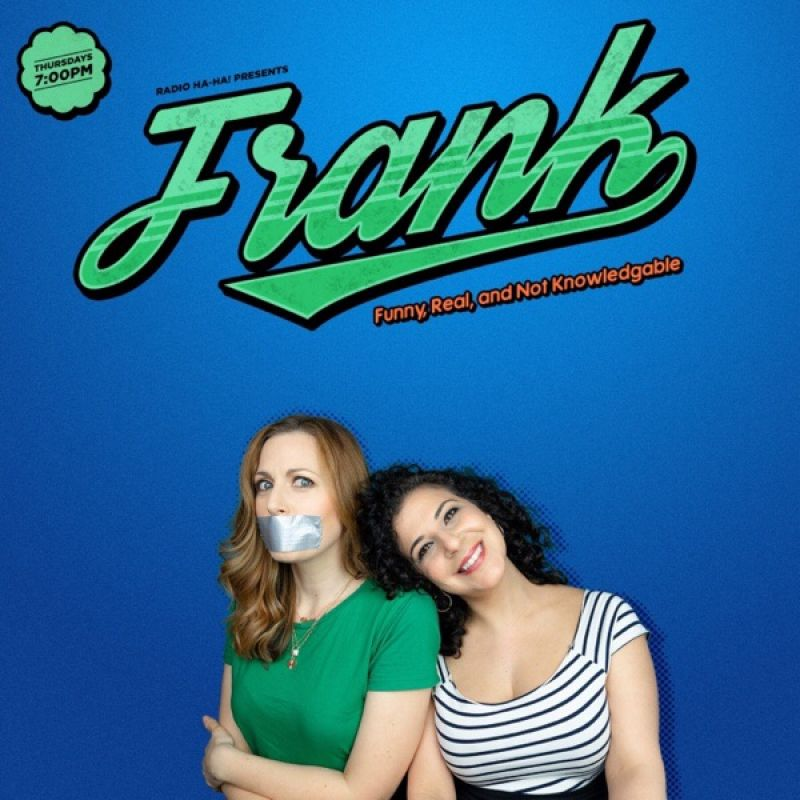 Olivia Lee co-hosts the brand new hilarious podcast 'Frank'.