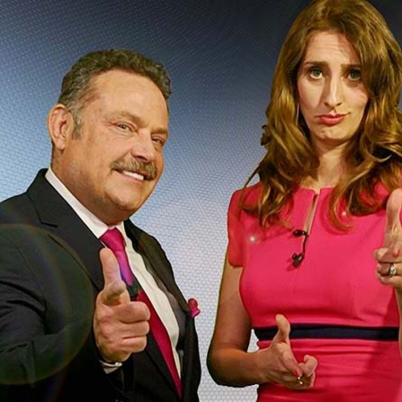 John Thomson and Jessica Knappett present new ITV comedy clip show 'Zone of Champions'.