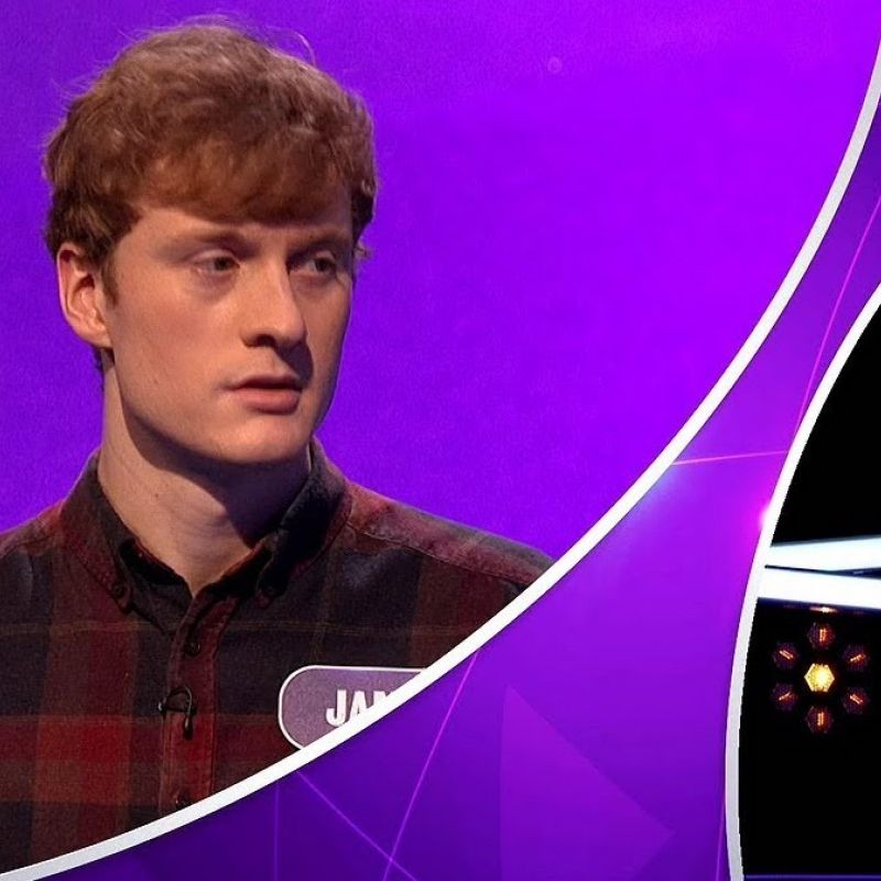 James Acaster takes part in BBC1's 'Pointless Celebrities'