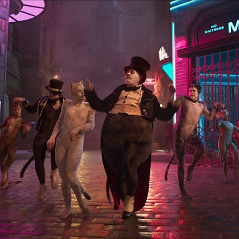 James Cordon stars in new upcoming film adaptation of the Andrew Lloyd Webber musical Cats.