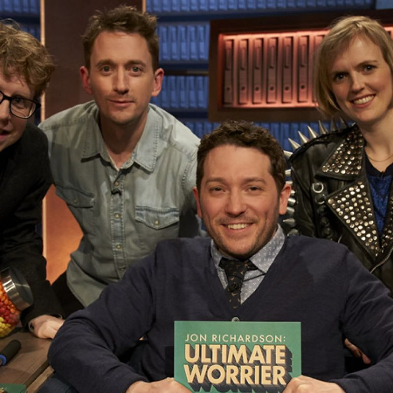 John Robins joins Jon Richardson on Ultimate Worrier.
