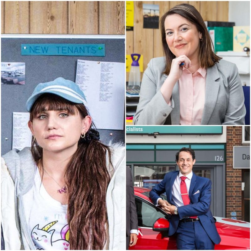 Comedy 'Stath Lets Flats' is back for its second series, starring Natasia Demetriou, Katy Wix and Dustin Demri-Burns.