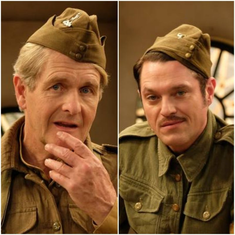 Robert Bathurst and Mathew Horne star in Dad's Army: The Lost Episode