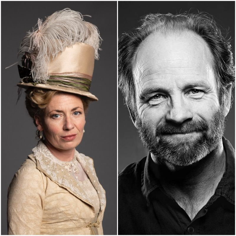 Kate Ashfield and Adrian Rawlins star in new ITV period drama series 'Sanditon'.