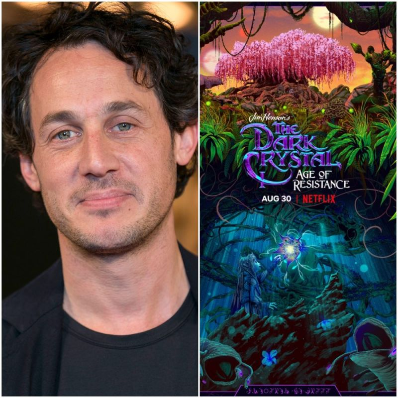 New Netflix fantasy series, 'Dark Crystal: Age of Resistance' featuring Dave Chapman and Dustin Demri-Burns.