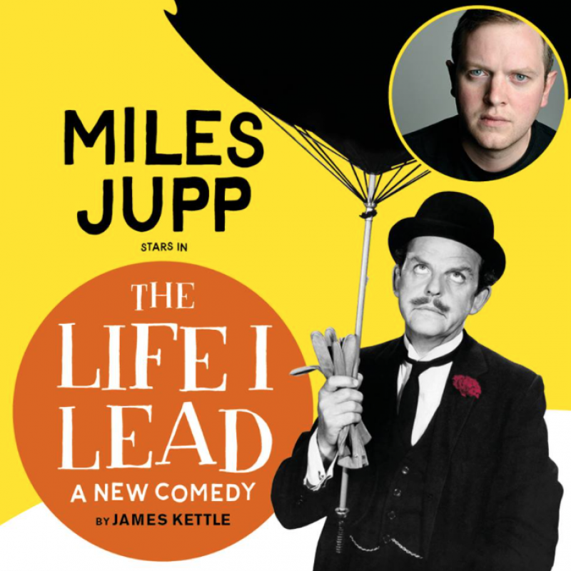 'The Life I Lead Tour' sees Miles Jupp bringing David Tomlinson to life and retelling his remarkable story.
