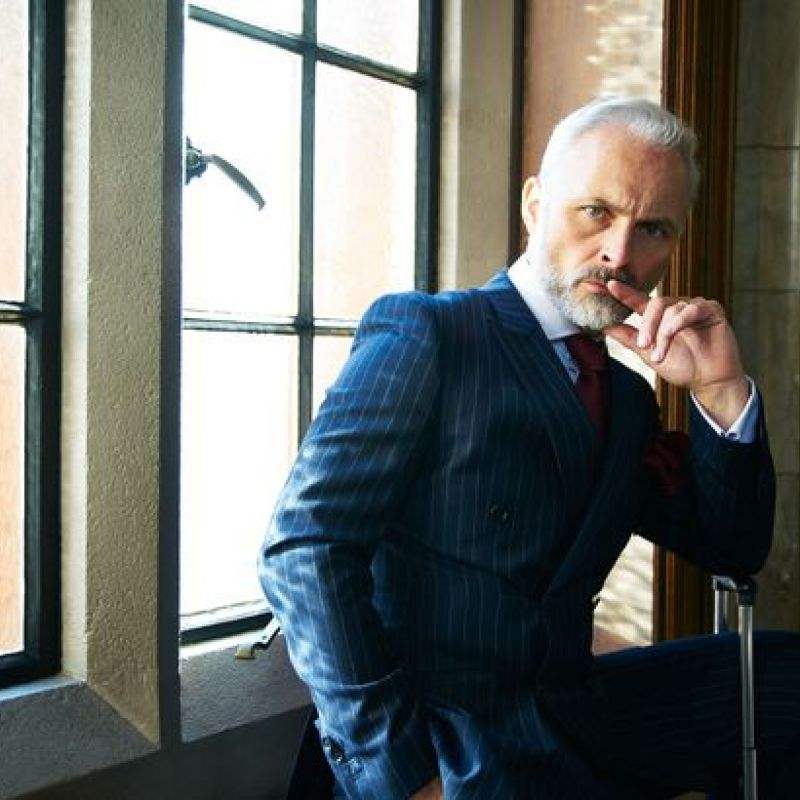 Mark Bonnar features in new BBC2 legal comedy series 'Defending the Guilty'.