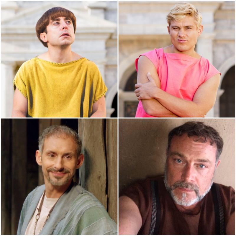 Plebs returns to ITV2 with its 5th series!
