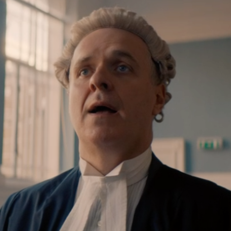 Laurence Howarth features in new Legal comedy 'Defending the Guilty'.