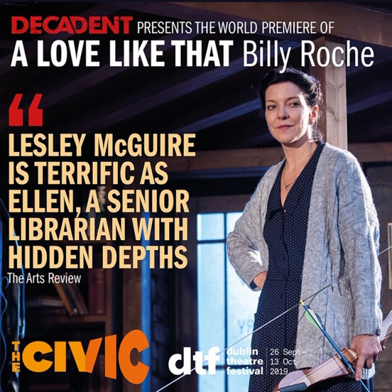 Lesley McGuire stars as Ellen in 'A Love Like That' at The Civic, Tallaght Theatre.