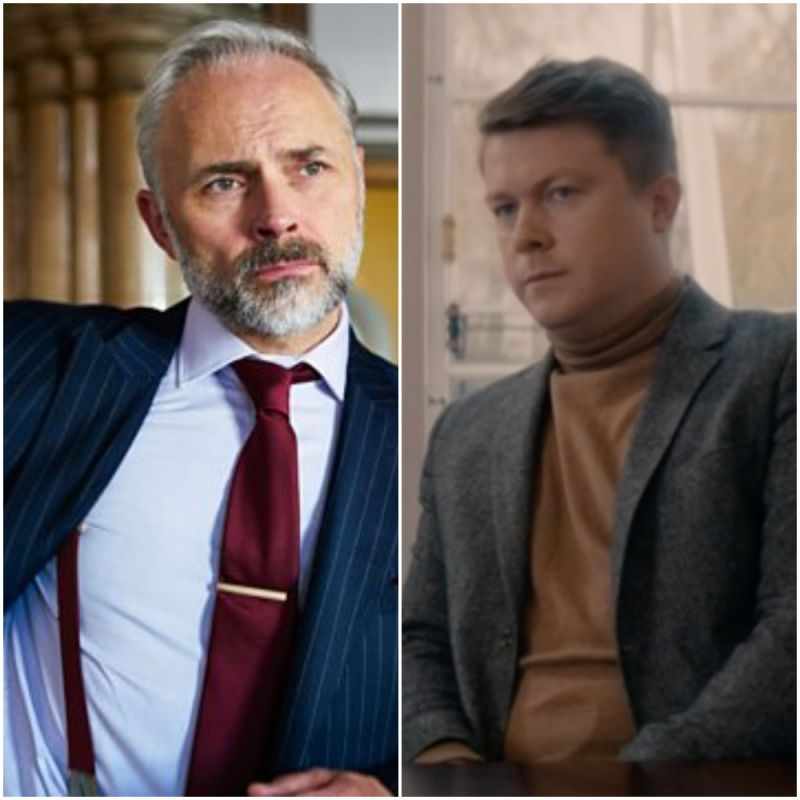 Mark Bonnar and Daniel Rigby feature in tonights episode of 'Defending the Guilty'.