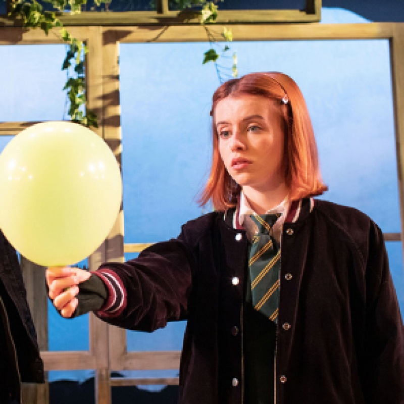 Rosie Day stars in 'The Girl Who Fell' at Trafalgar Studios