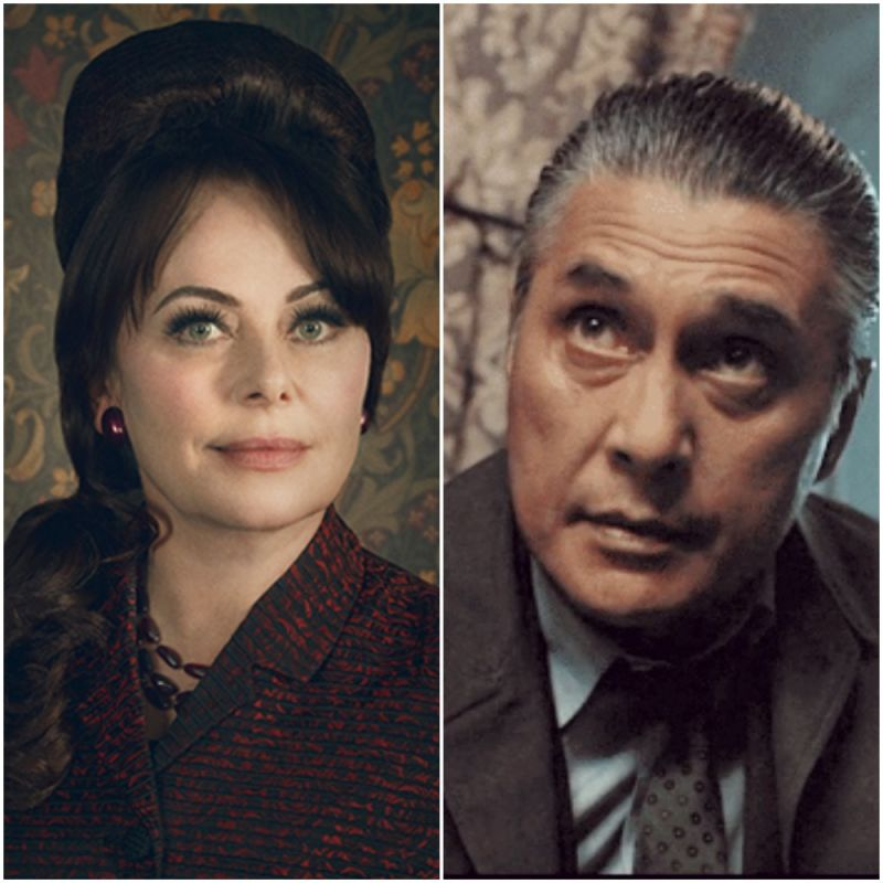 Polly Walker and Ramon Tikaram star in new DC Comics TV series 'Pennyworth'.