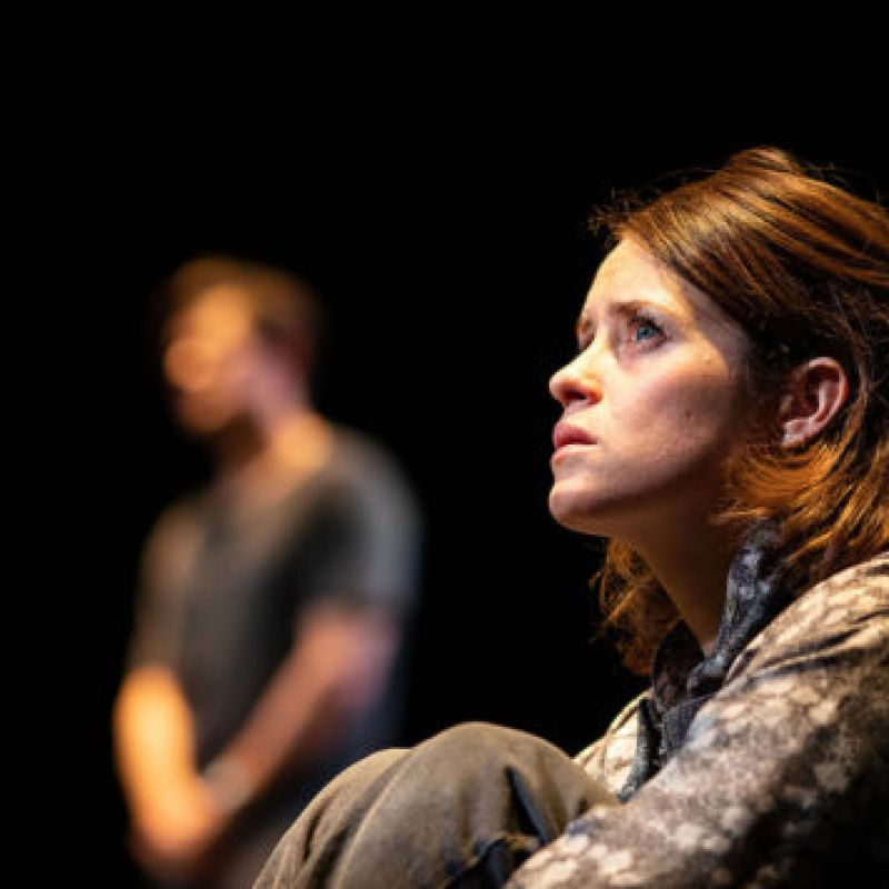 Claire Foy stars as co-lead in climate crisis drama 'Lungs' at The Old Vic.