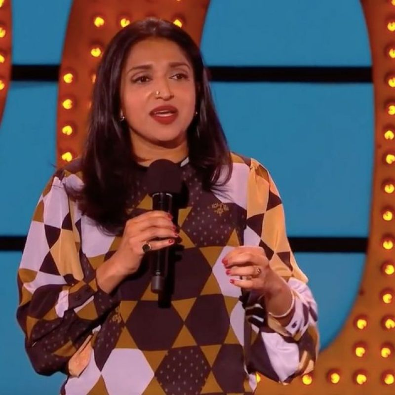 Sindhu Vee hosts this weeks episode of the comedy showcase 'Live at the Apollo'.