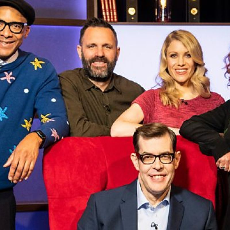 Shaun Keaveny tests his knowledge in a series of trivia-based games in 'Richard Osman's House Of Games'.