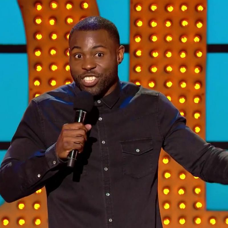 Darren Harriott hosts this weeks episode of the comedy showcase 'Live at the Apollo'.