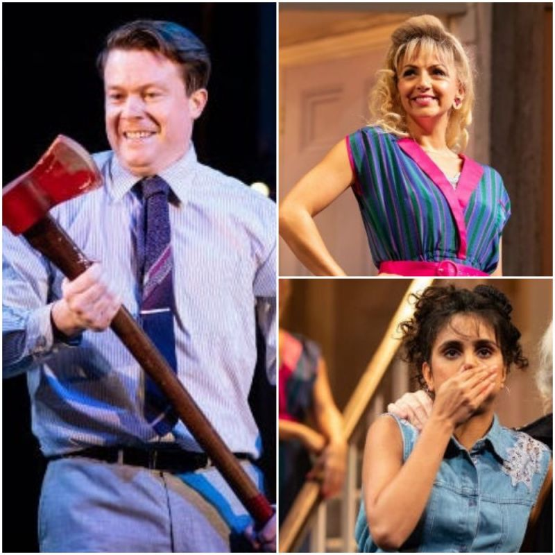 Michael Frayn's classic backstage comedy 'Noises Off', starring Daniel Rigby, Lisa McGrillis and Anjli Mohindra.