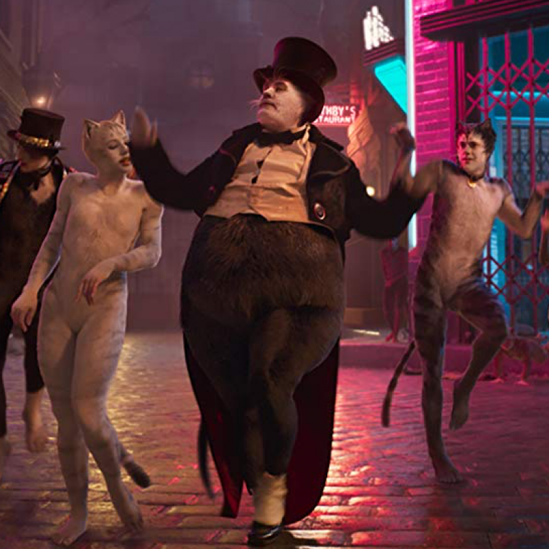 New feature film adaption of Andrew Lloyd Webber's popular musical CATS! Starring James Corden