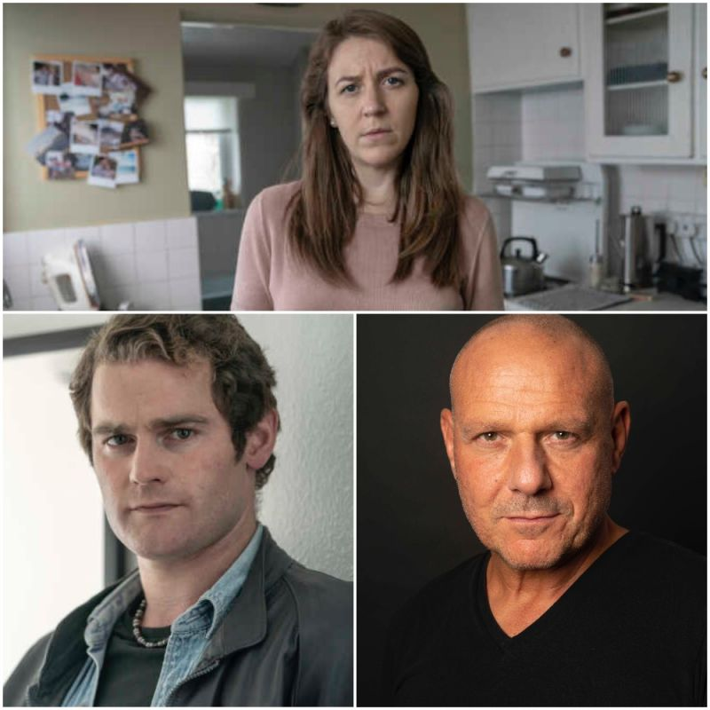 New ITV factual drama 'White House Farm', featuring Gemma Whelan, Mark Stanley and David Kennedy.