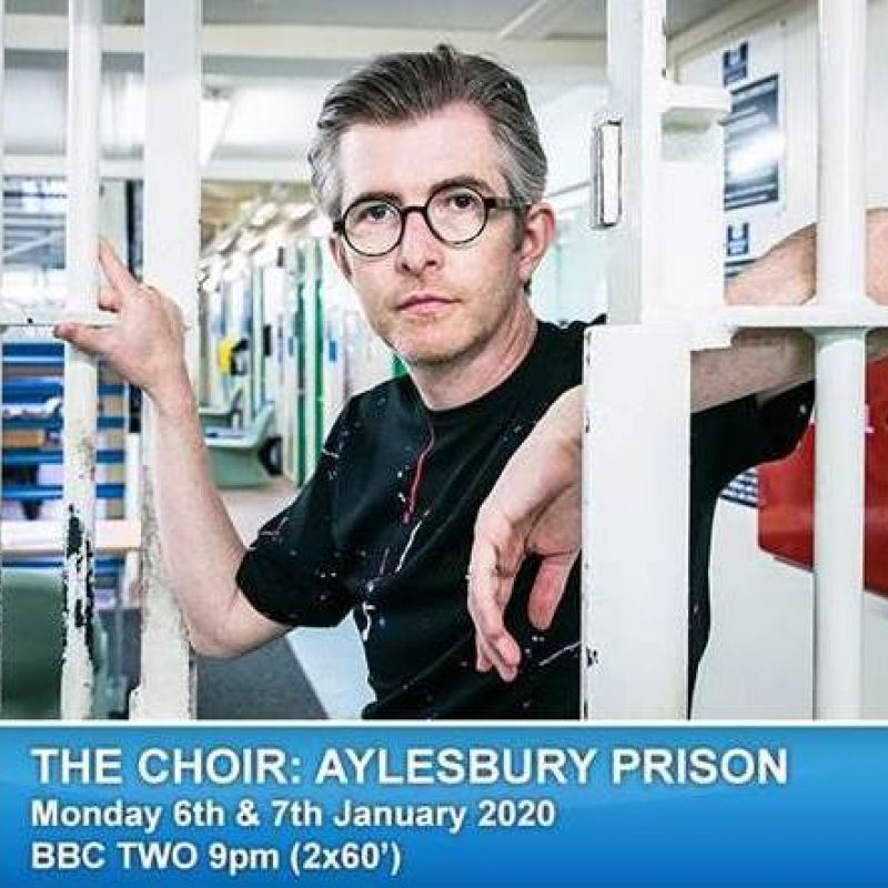 Vinette Robinson narrates 'The Choir: Aylesbury Prison' on BBC Two.