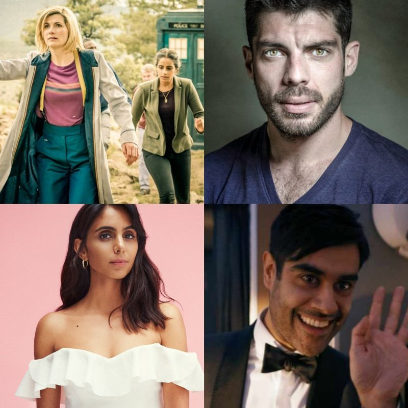 New Series of Doctor Who starring Jodie Whittaker, Mandip Gill, Sacha Dhawan and featuring Ronan Summers and Anjli Mohindra