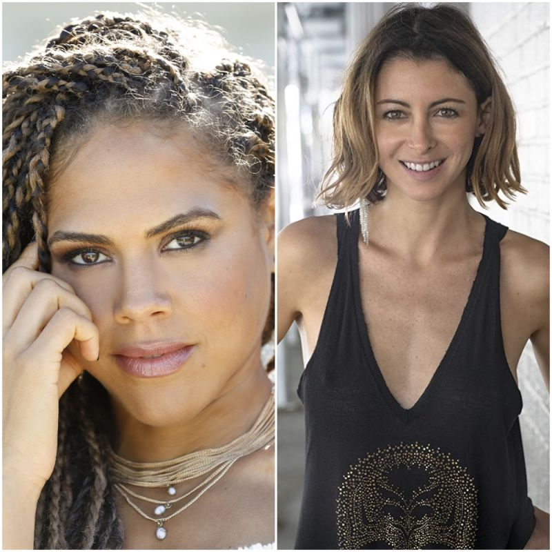New Sky sci-fi comedy 'Avenue 5', featuring Lenora Crichlow and Julie Dray.
