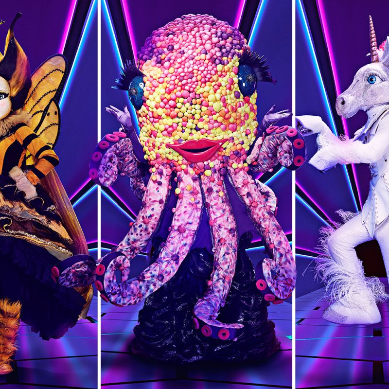 Jim Johnson narrates popular new entertainment series 'The Masked Singer'.