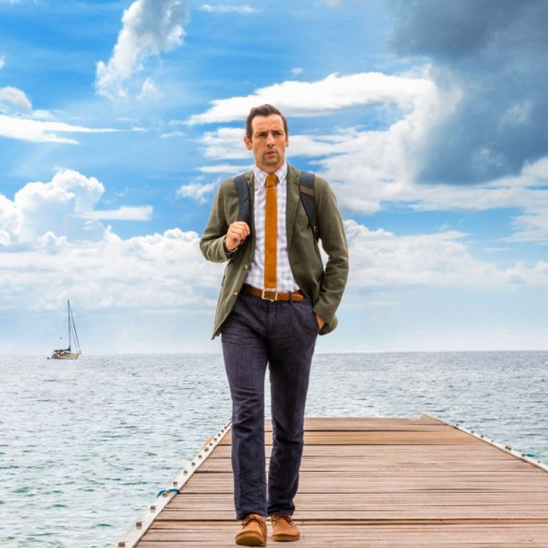 "Ralf Little joins Death in Paradise, as the new detective- DI Neville Parker. The detective who's ""allergic to everything""."