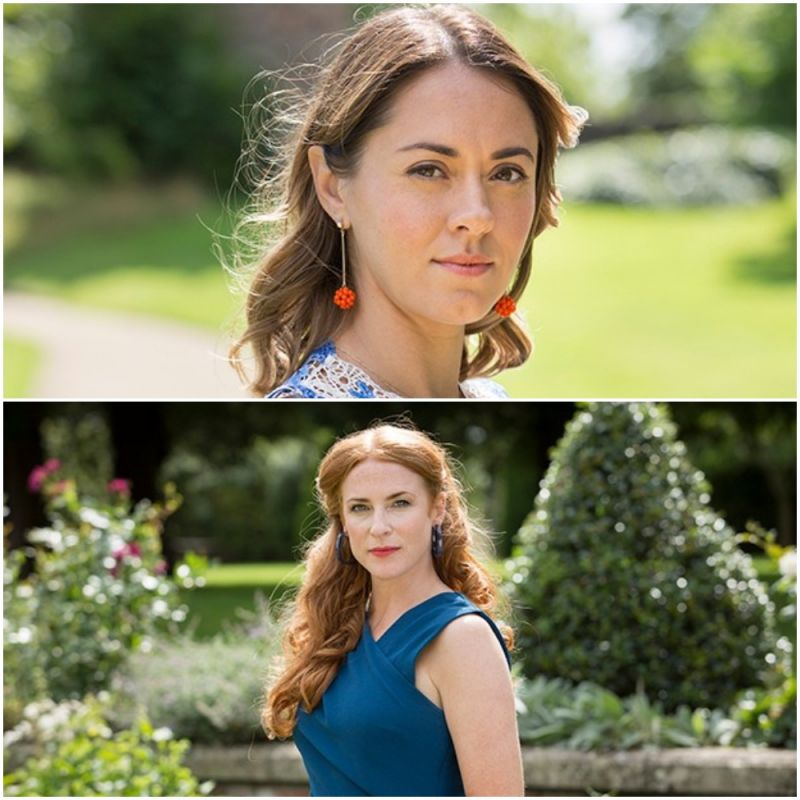 Susannah Fielding and Rosalie Craig star in new ITV crime drama 'McDonald & Dodds'.