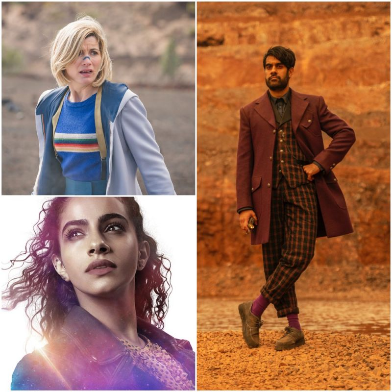 Doctor Who series finale, starring Jodie Whittaker, Mandip Gill and Sacha Dhawan.