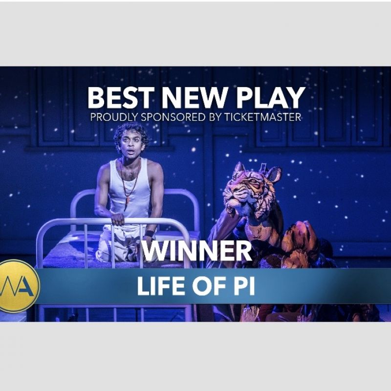 Lolita Chakrabarti awarded 'Best New Play' at the WhatsOnStage Awards 2020!