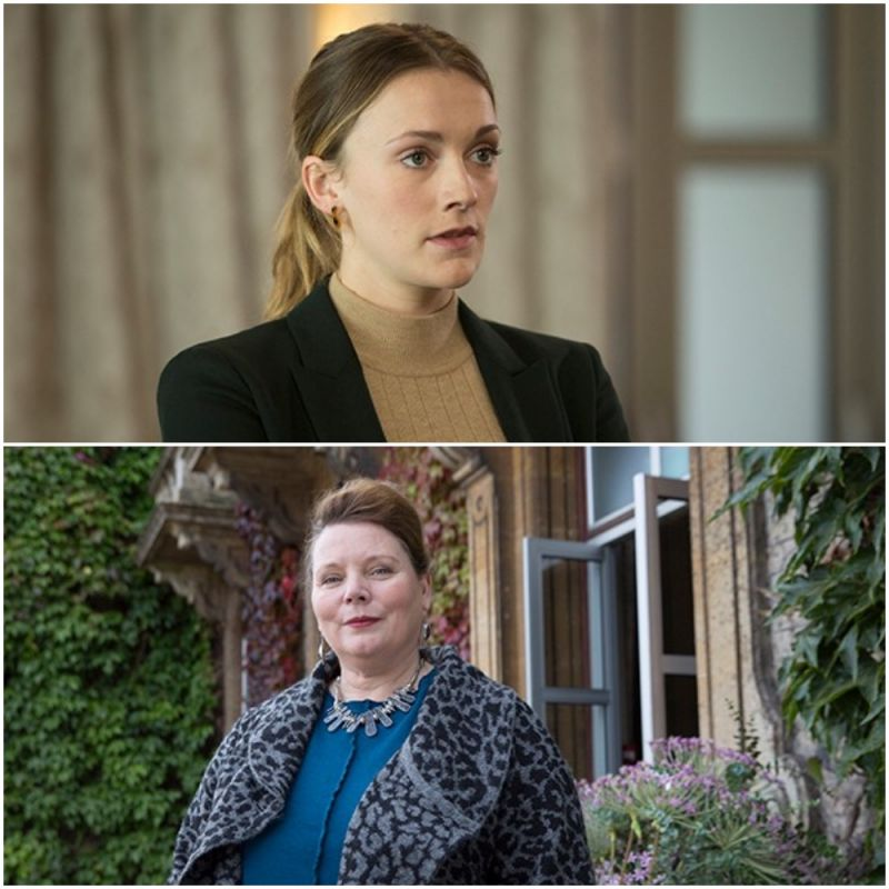 Charlotte Ritchie and Joanna Scanlan feature in series finale of ITV drama 'McDonald & Dodds'.