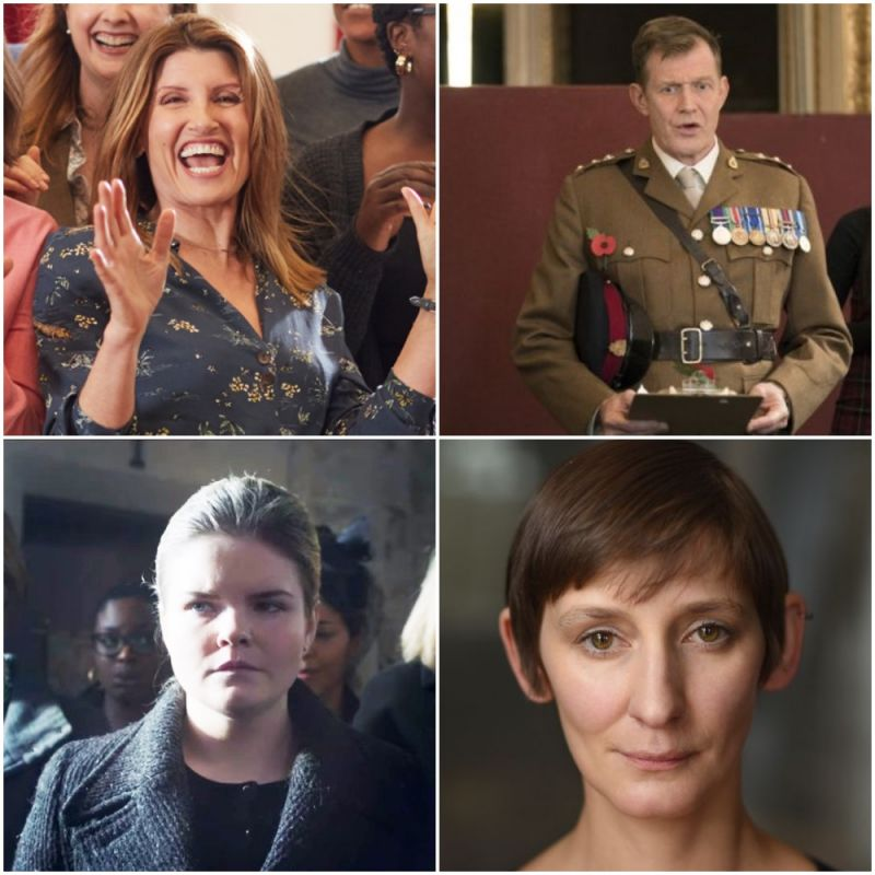 New comedy, feature film 'Military Wives' starring Sharon Horgan, Jason Flemyng, Gaby French and Laura Elphinstone.