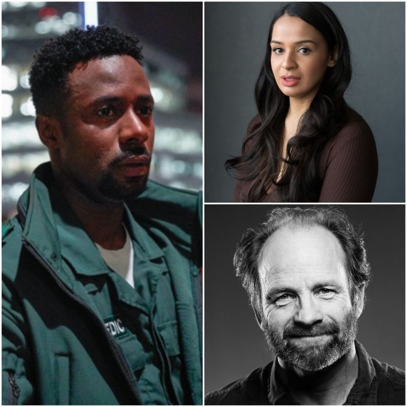 New eight-part adult drama 'Trigonometry' starring Gary Carr, Ambreen Razia and featuring Adrian Rawlins.