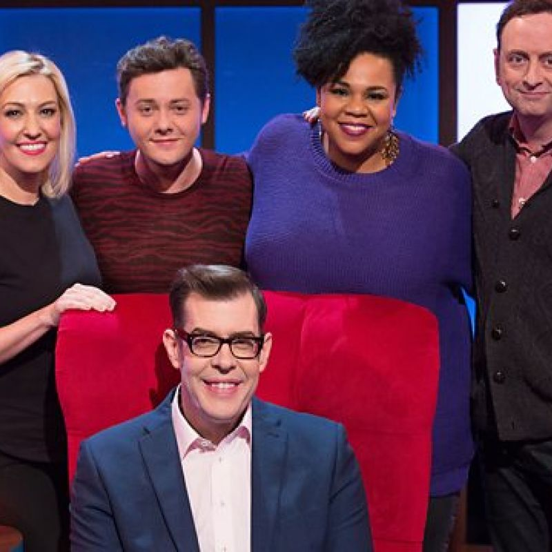 Desiree Burch takes on a series of challenging quiz games in 'Richard Osman's House of Games'.