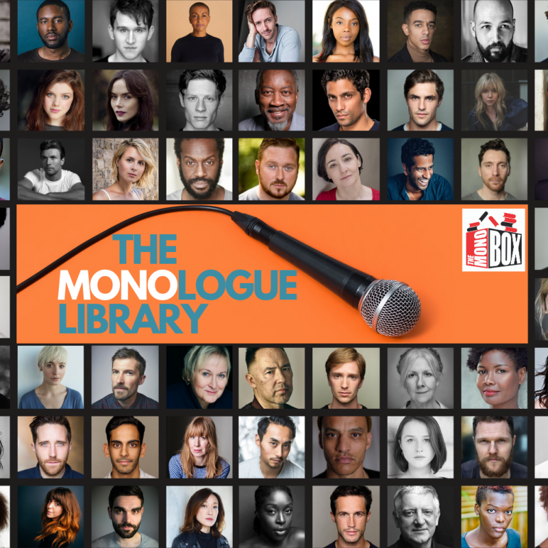 Famous stage monologues have been released in a brand new 'Monologue Library', created by Hampstead Theatre's associate company The Mono Box.