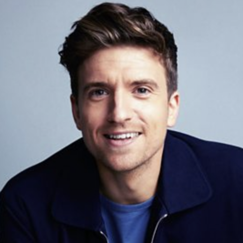 A huge welcome to Greg James!