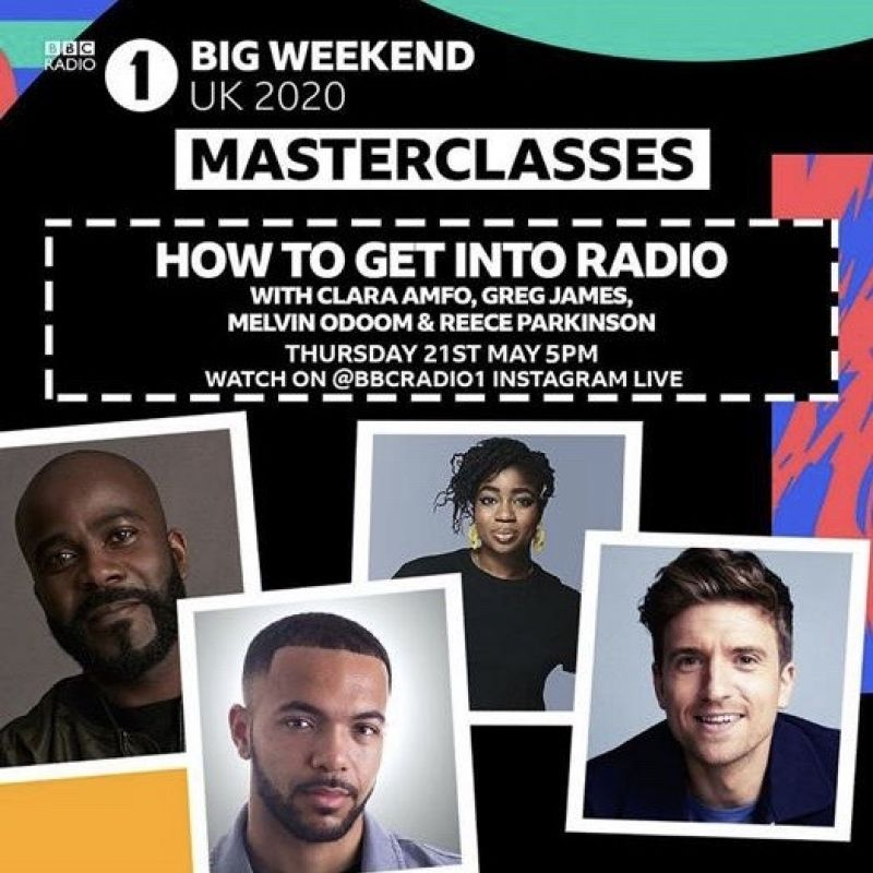 Check out this Masterclass on how to get into Radio with Greg James and Reece Parkinson!