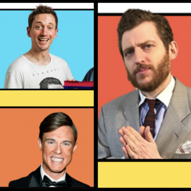For one night only: The Elis James & John Robins & Ed Gamble & Michael Crosby Show!