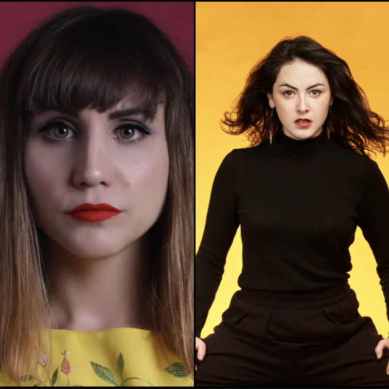 Natasia Demetriou and Emma Sidi are doing this week's new comedy show at 'The Moth House'!