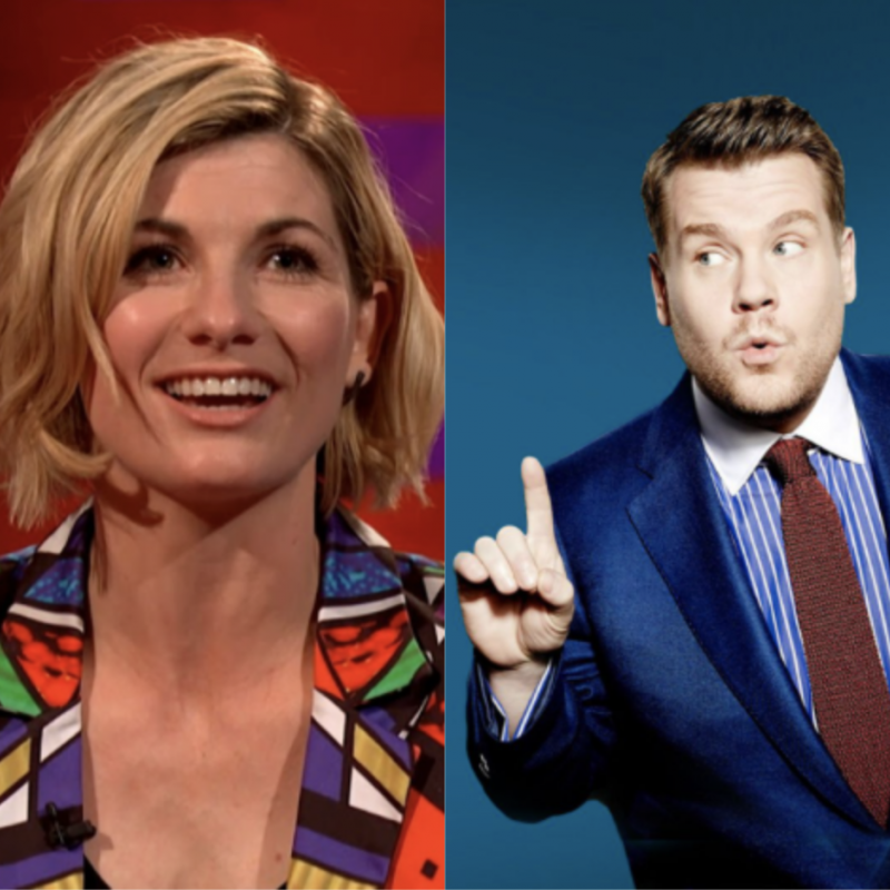 Watch Jodie Whittaker on the latest episode of The Late Late Show with James Corden.