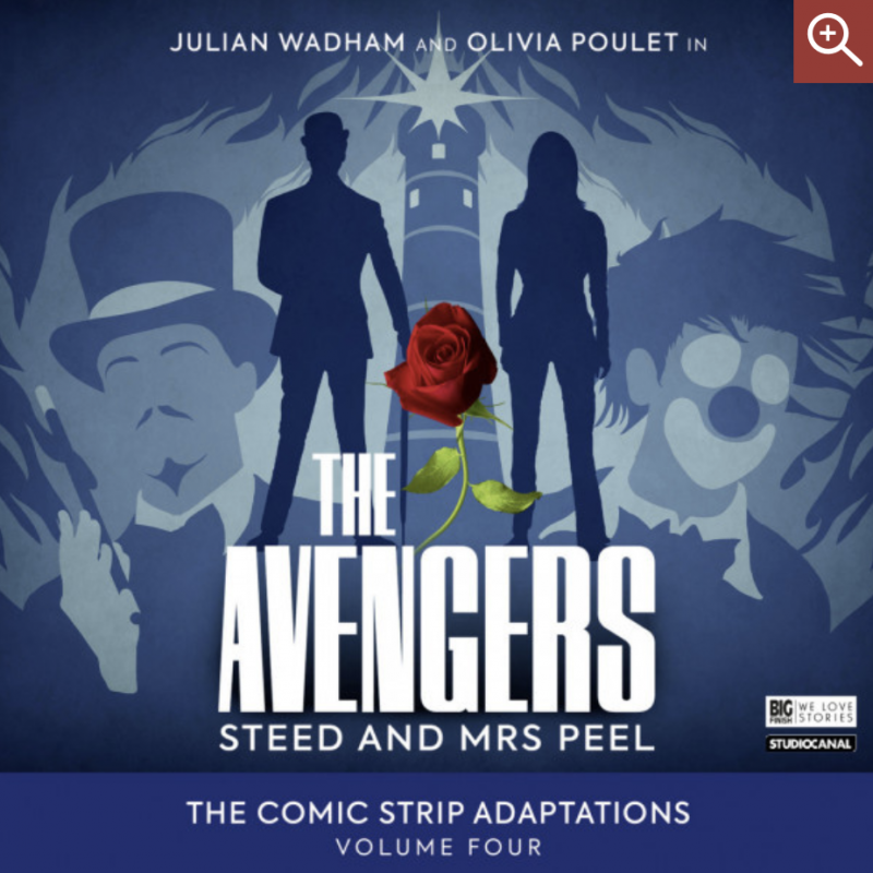 Don't miss Olivia Poulet as Mrs Peel in The Avengers!