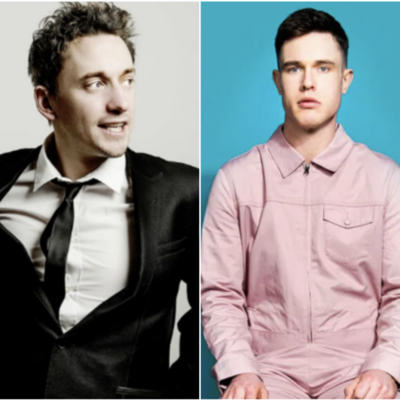Catch John Robins and Ed Gamble in The Lou Sanders International Chat Show!