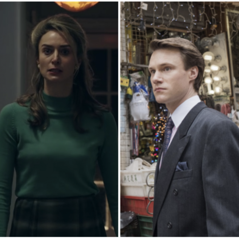 Catch up on the Romanoffs starring Hugh Skinner and Deirdre Mullins