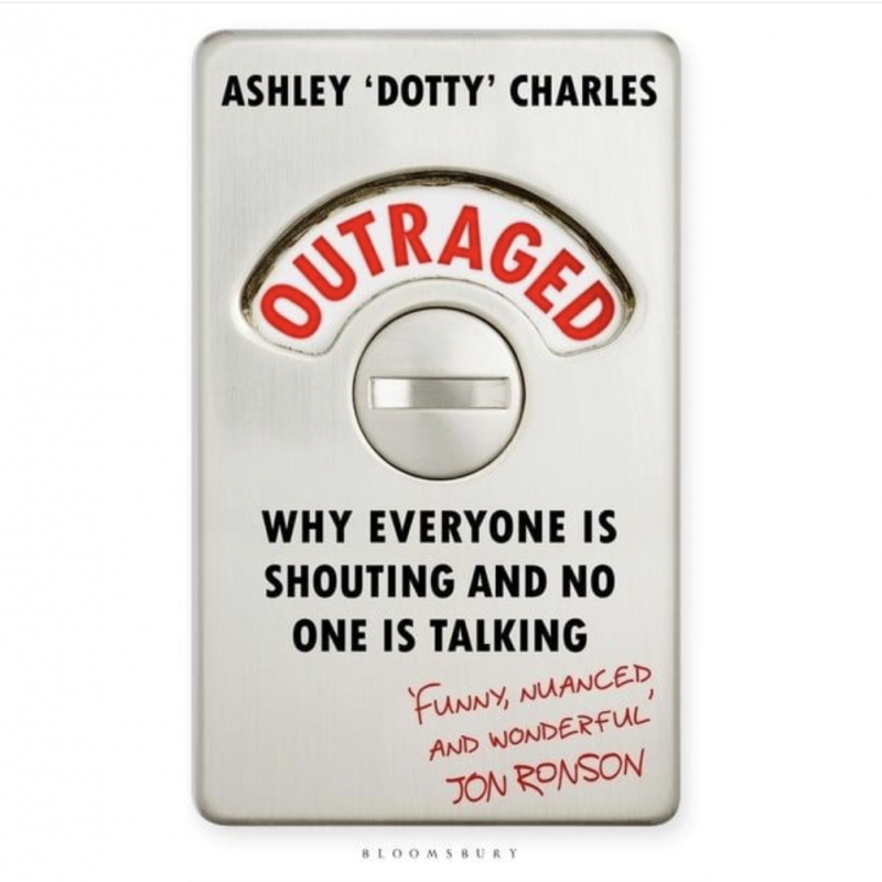 Dotty's new book 'Outraged' is out today!