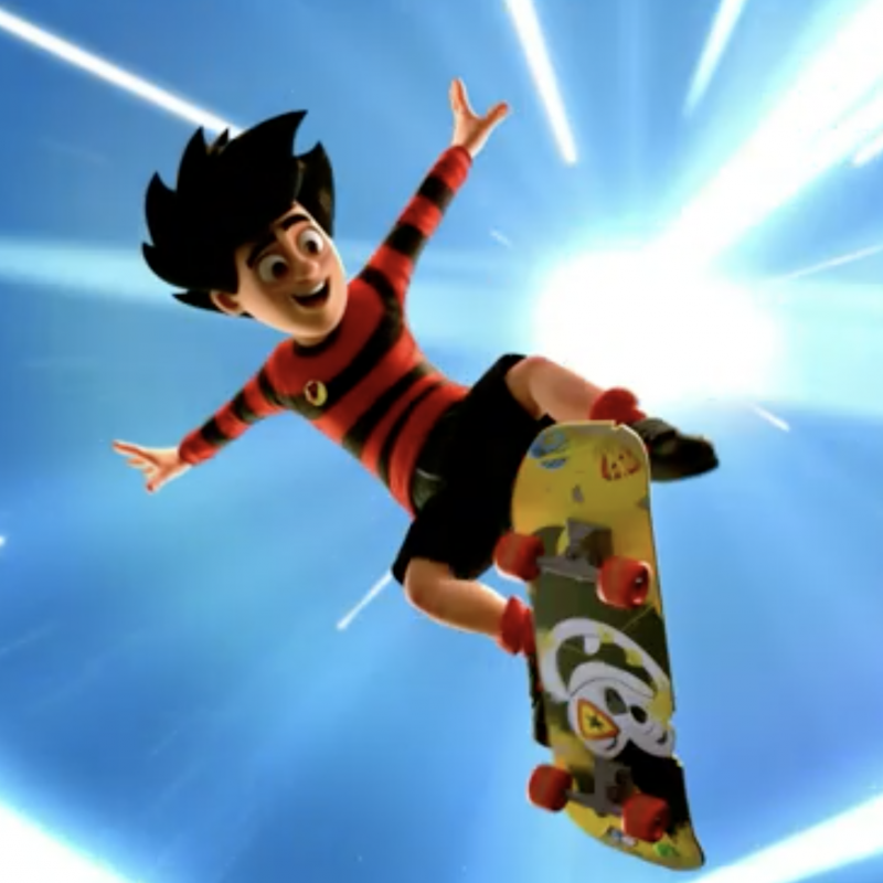 The new series of Dennis and Gnasher Unleashed is out today with Ryan Sampson, Kathryn Drysdale and Joanna Ruiz!