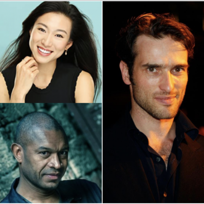Don't miss Ed Stoppard, Bruce Lester Johnson and Quanna Luo Masterson in the exciting new TV adaptation of Aldous Huxley's Brave New World.