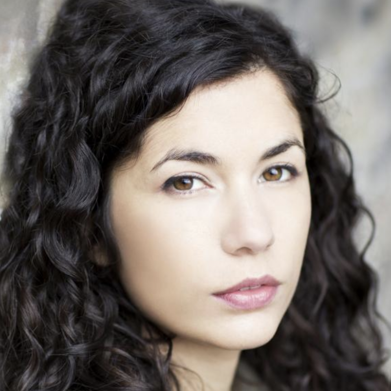 Don't miss Elena Larios in the brilliant digital play 'This Round is on Me'