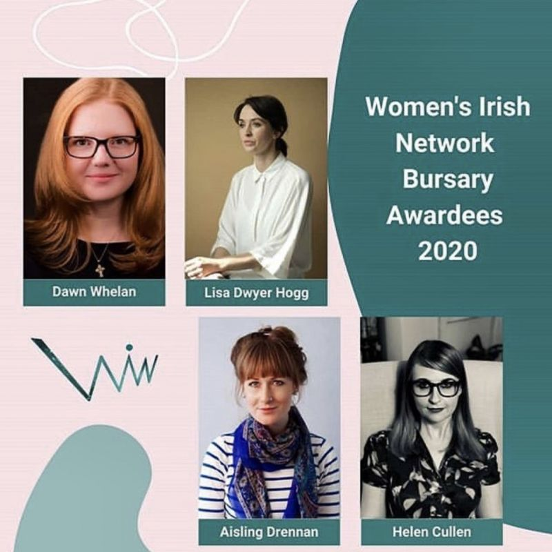Congratulations to Lisa Dwyer Hogg on being one of four incredible women to receive the Women's Irish Network Bursary 2020!